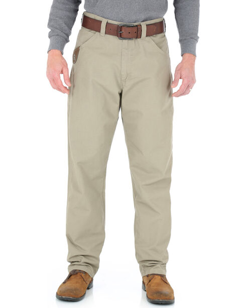 Wrangler Men's Riggs Technician Work Pants, Dark Khaki, hi-res