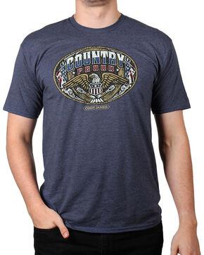 Cody James® Men's Country Proud Short Sleeve T-Shirt, Heather Blue, hi-res