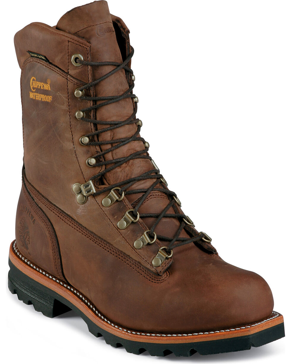 Chippewa Men's Waterproof Arctic Work Boots, Bay Apache, hi-res