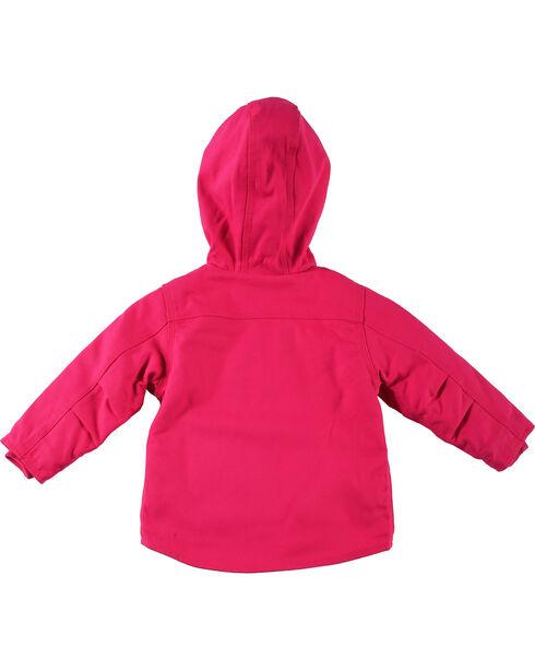 Carhartt Toddler Girls' Pink Redwood Sherpa Lined Jacket , Pink, hi-res