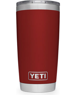 Yeti Red Rambler 20oz Sliding Lid Tumbler , Red, hi-res