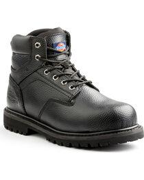 Dickies Men's Black Prowler Work Boots - Steel Toe, , hi-res