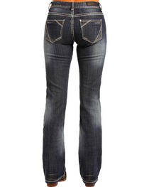 Rock & Roll Cowgirl Women's Mid Rise Simple Pocket Jeans - Boot Cut , , hi-res