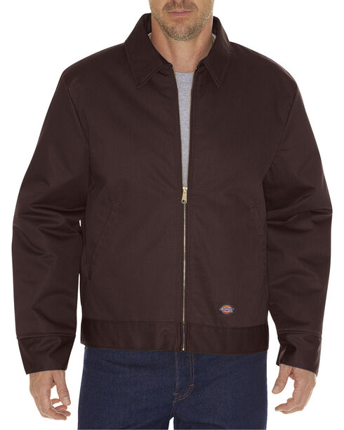 Dickies ® Insulated Eisenhower Jacket, Dark Brown, hi-res