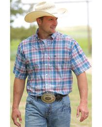 Cinch Men's Multi One Pocket Short Sleeve Shirt , , hi-res