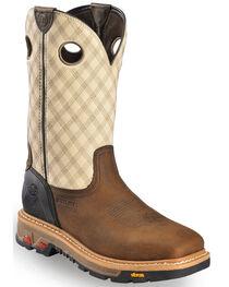 Justin Men's Commander-X5 Steel Toe Work Boots, , hi-res