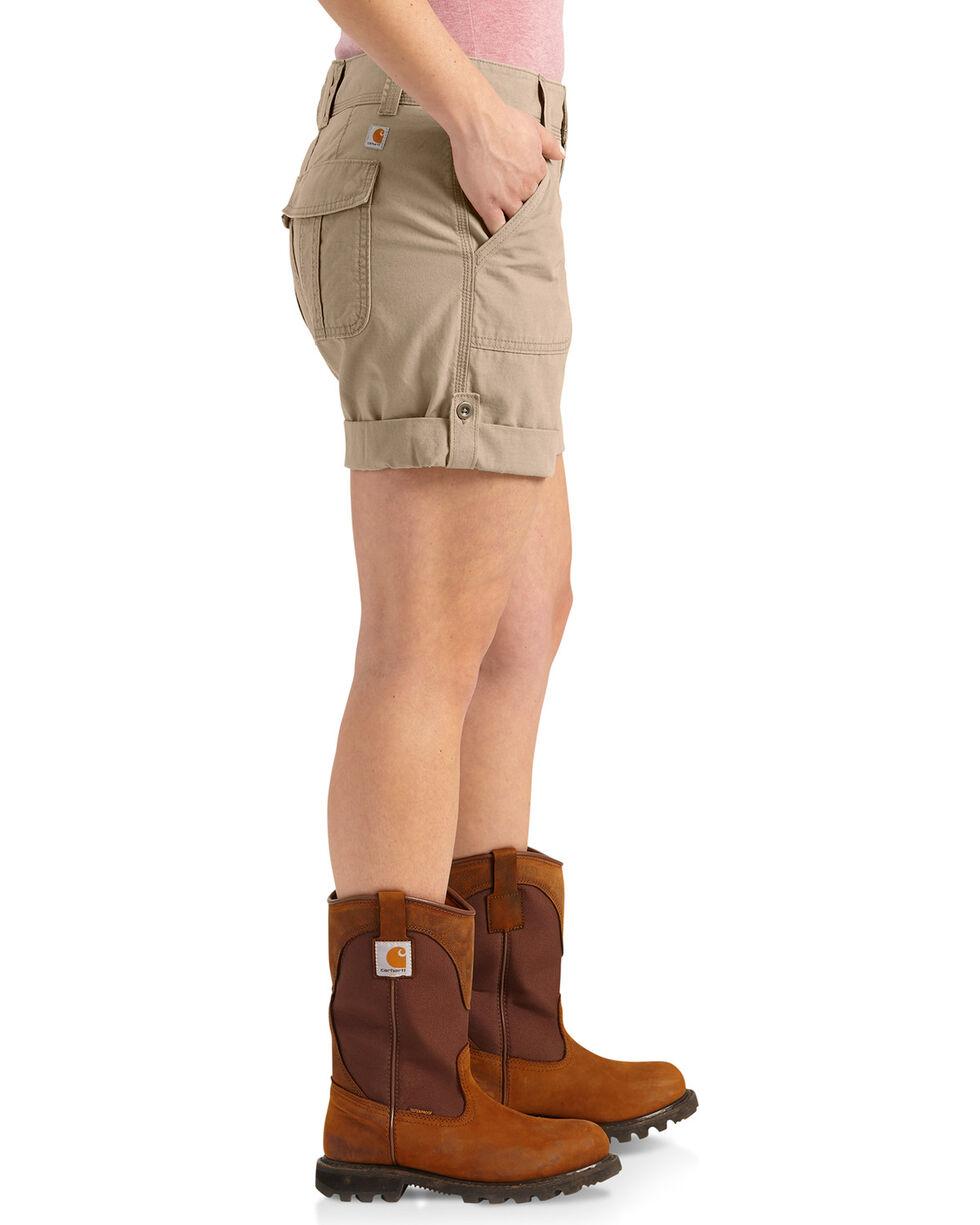 Carhartt Women's Relaxed Fit El Paso Shorts, Beige/khaki, hi-res