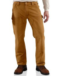 Carhartt Men's Weathered Double Front Dungaree Pants, , hi-res