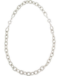 Montanan Silversmiths Women's Silver Convertible Link Necklace , , hi-res