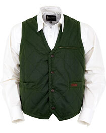 Outback Trading Co. Men's Green Drover Vest , , hi-res