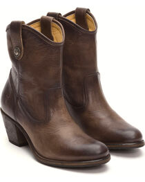 Frye Women's Slate Jackie Button Short Boots - Medium Toe , , hi-res