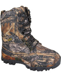 Smoky Mountain Boys' Hunter Camo Lace-Up Boots, , hi-res