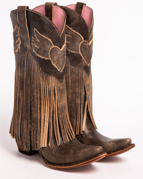 Junk Gypsy by Lane Women's Dreamer Western Boots, Brown, hi-res