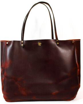SouthLife Supply Women's Shiloh Brick Medium Bucket Bag, Mahogany, hi-res