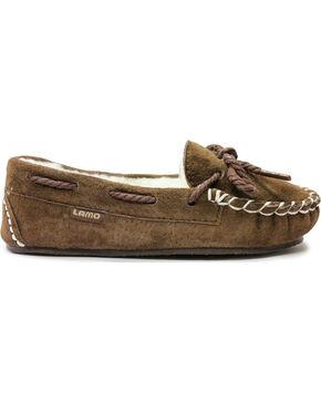 Lamo Footwear Brittain Kid's Moccasins , Chocolate, hi-res