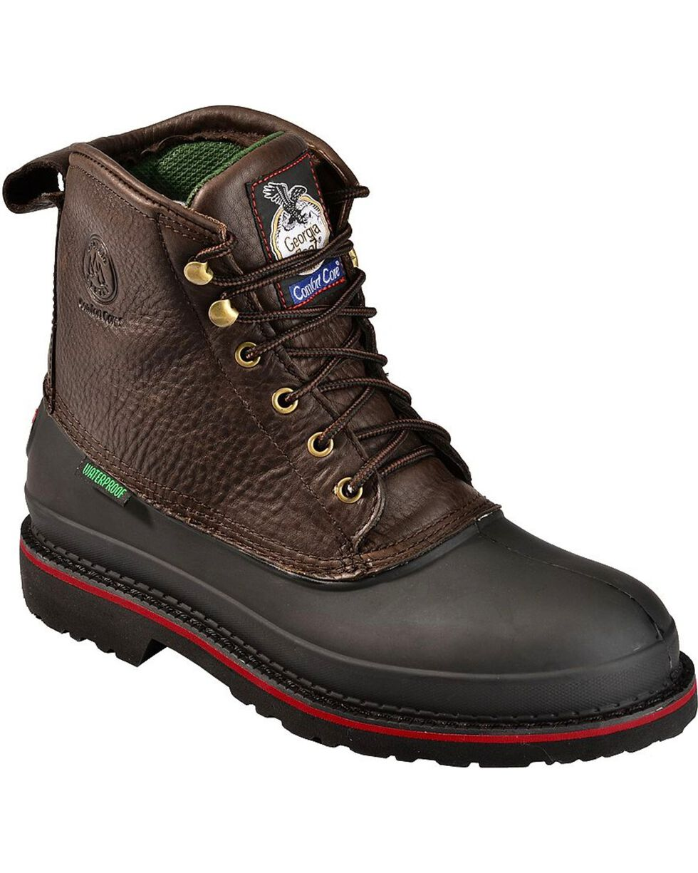 "Georgia Men's Topsoil Mud dog 6"" Work Boots, Brown, hi-res"