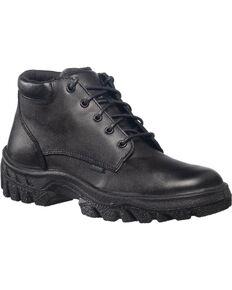 Rocky Womens TMC Postal Approved Chukka Military Boots, Black, hi-res
