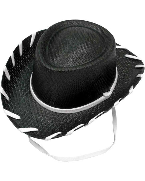Twister Boys'' Black Woody Cowboy Hat , Black, hi-res