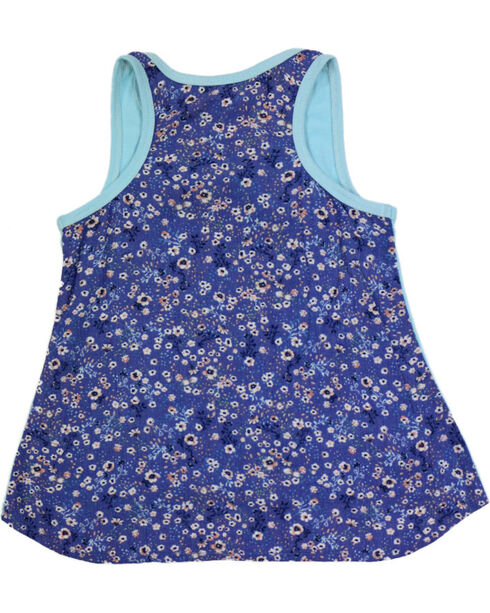 Shyanne® Toddler Girls' Ella Pony Tank, Blue, hi-res