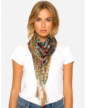 Johnny Was Women's Spezia Scarf, Multi, hi-res