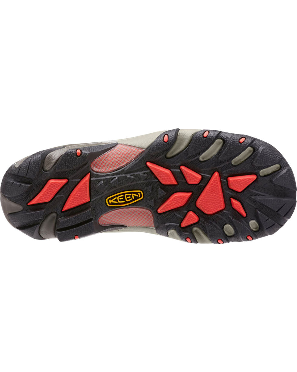 Keen Women's Atlanta Cool ESD Soft Toe Work Shoes, Grey, hi-res