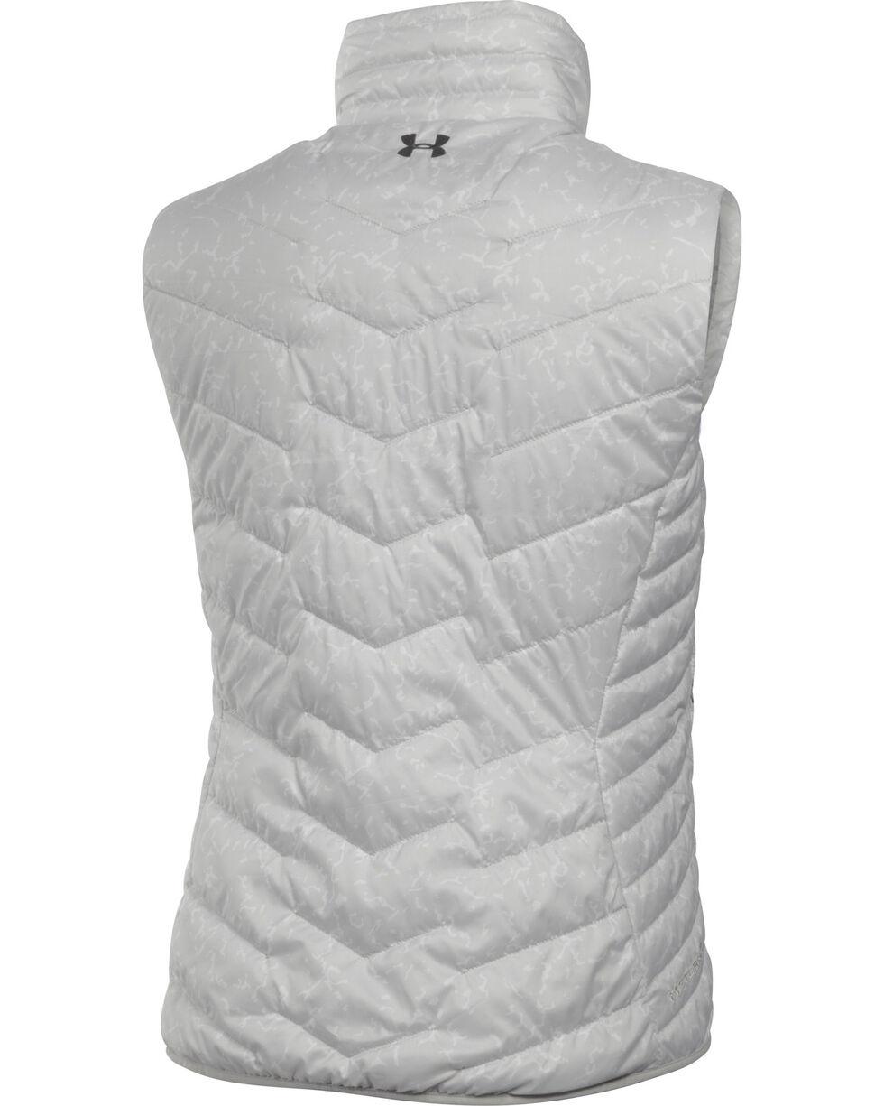 Under Armour Women's UA ColdGear Reactor Vest, Grey, hi-res