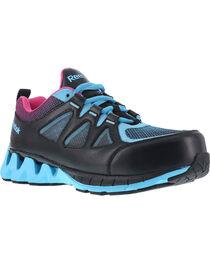 Reebok Women's Zigkick Althetic Oxford Work Shoes , , hi-res