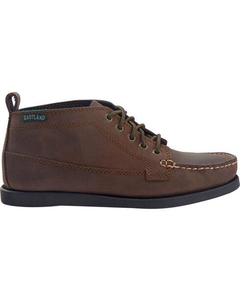 Eastland Men's Bomber Brown Seneca Camp Moc Chukka Boots, Brown, hi-res