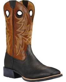 Ariat Men's Cowhorse Western Boots, , hi-res