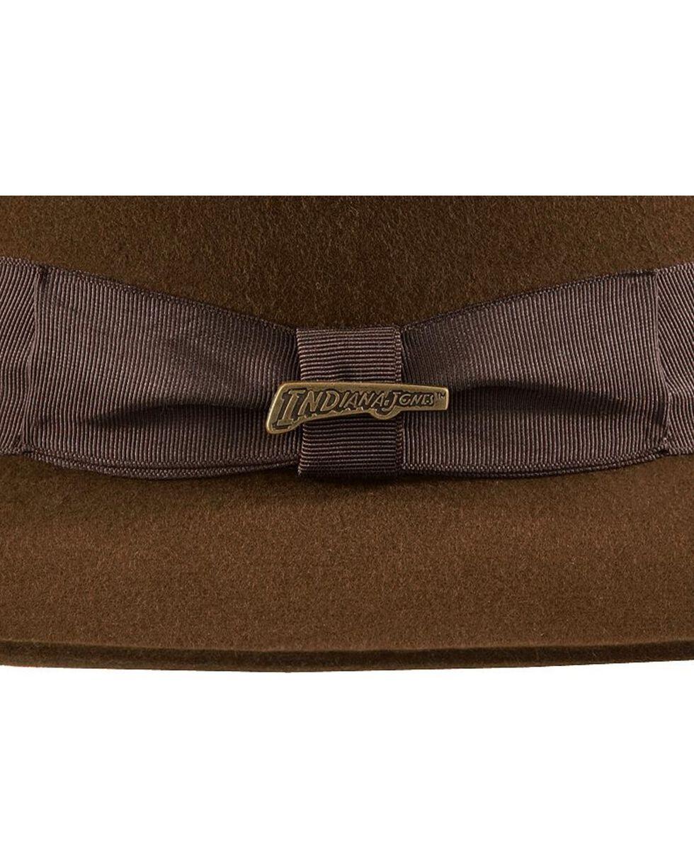 Indiana Jones Fur Felt Fedora Hat, Brown, hi-res