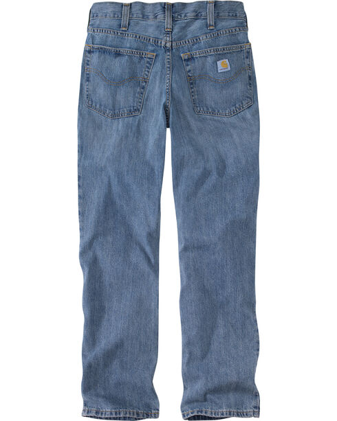 Carhartt Men's Relaxed Straight Jeans, Blue, hi-res
