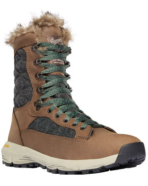 Danner Women's Brown Raptor 650 Boots - Round Toe , Medium Brown, hi-res