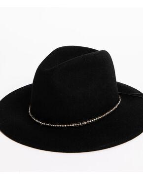 ále by Alessandra Women's Black Harley Felt Hat , Black, hi-res