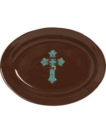 HiEnd Accents Cross Serving Platter, , hi-res