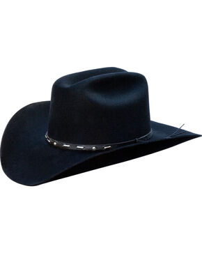 Silverado Men's Wesley Western Hat   , Black, hi-res