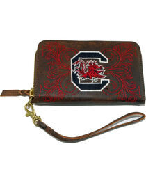 Gameday Boots University of South Carolina Leather Wristlet, , hi-res