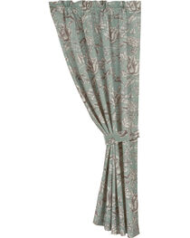 HiEnd Accent Multi Gramercy Floral Curtain, , hi-res