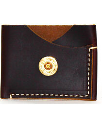 SouthLife Supply Men's Jefferson Plum Leather Card Holder, , hi-res