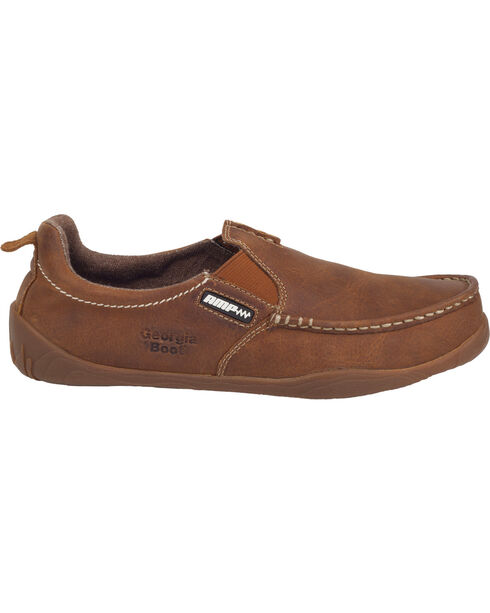 Georgia Men's Cedar Falls Oxford Casual Shoes, Tan, hi-res