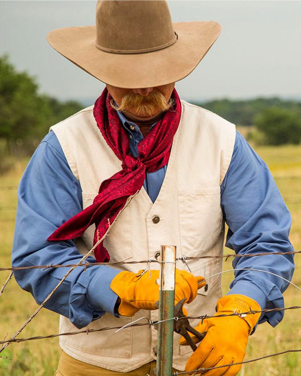 Schaefer Outfitter Men's Natural Vintage Mesquite Vest - 3XL, Natural, hi-res