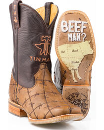 Tin Haul Men's Don't Fence Me In Western Boots, , hi-res