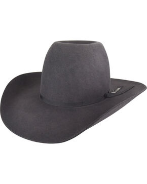 Bailey Men's Charcoal Western Hastings Cowboy Hat , Charcoal, hi-res
