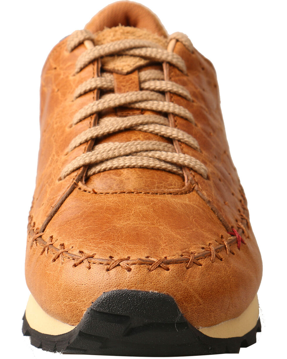 Twisted X Women's Western Athleisure Cross Stitch Shoes, Tan, hi-res