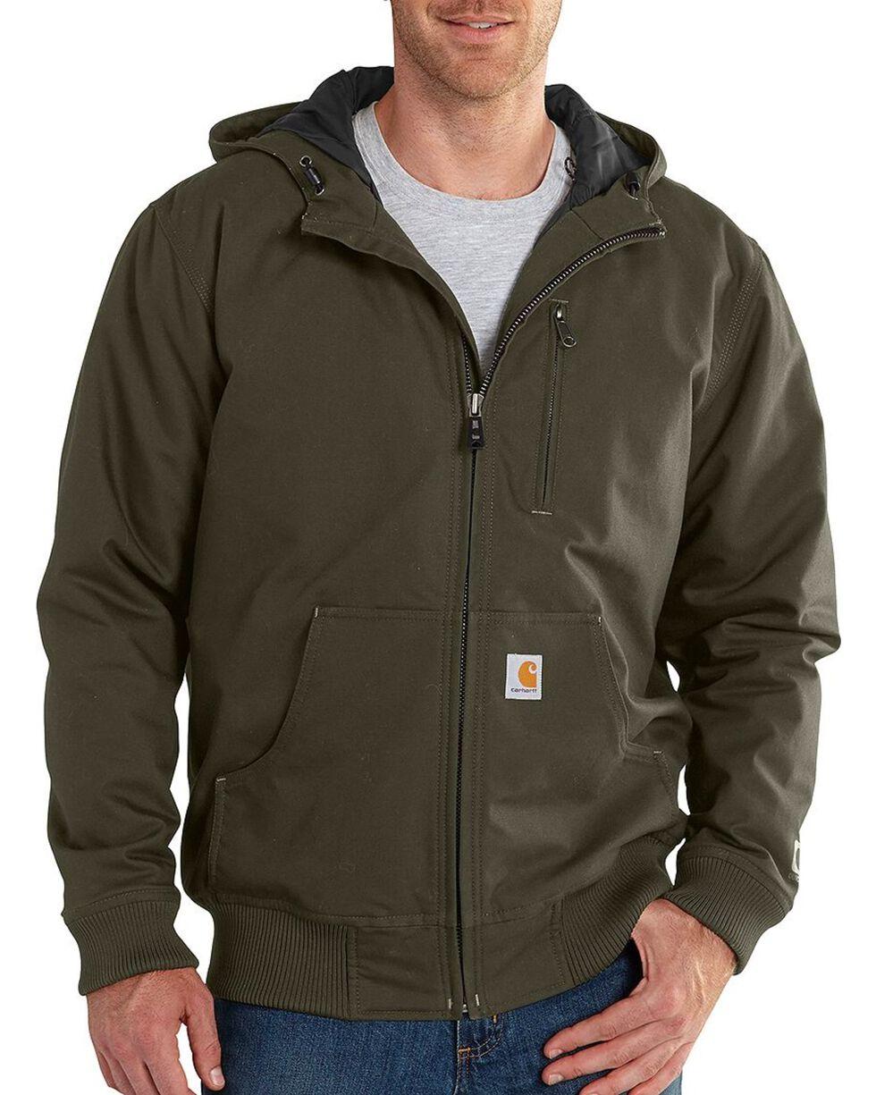 Carhartt Men's Quick Duck Jefferson Active Jacket - Big & Tall, Olive Green, hi-res