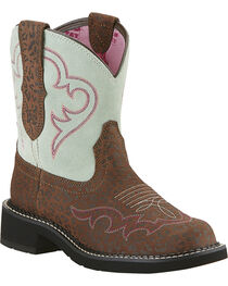 Ariat Women's Fatbaby Heritage Harmony Riding Boots, , hi-res
