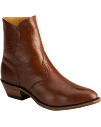 "Boulet Men's 9"" Side Zip Western Dress Boots, , hi-res"