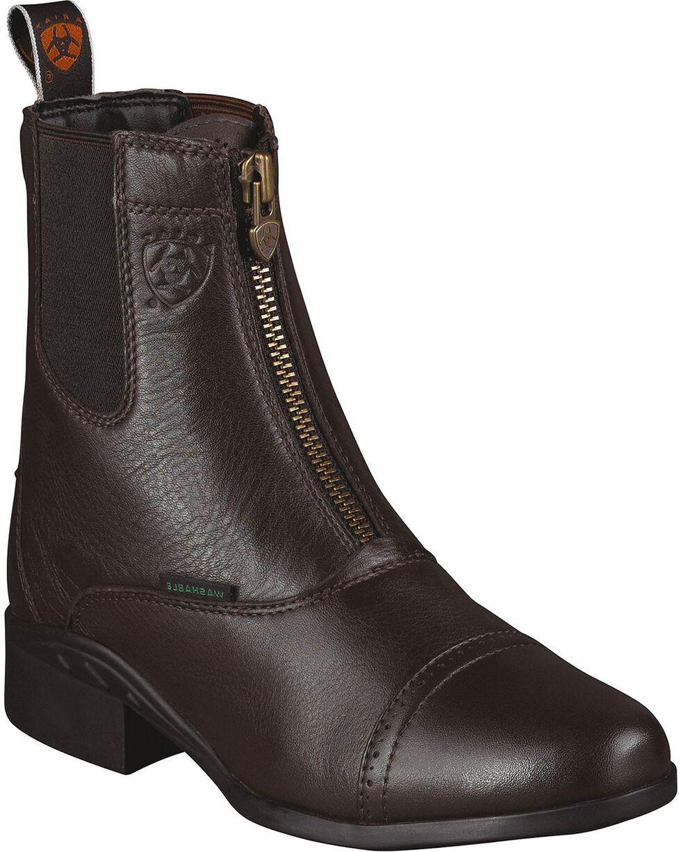 Ariat Women's Heritage Breeze Paddock Boots, Brown, hi-res