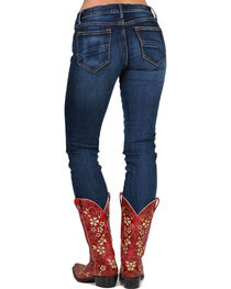 Drift Wood Women's Audrey Embroidered Straight Leg Jeans, , hi-res