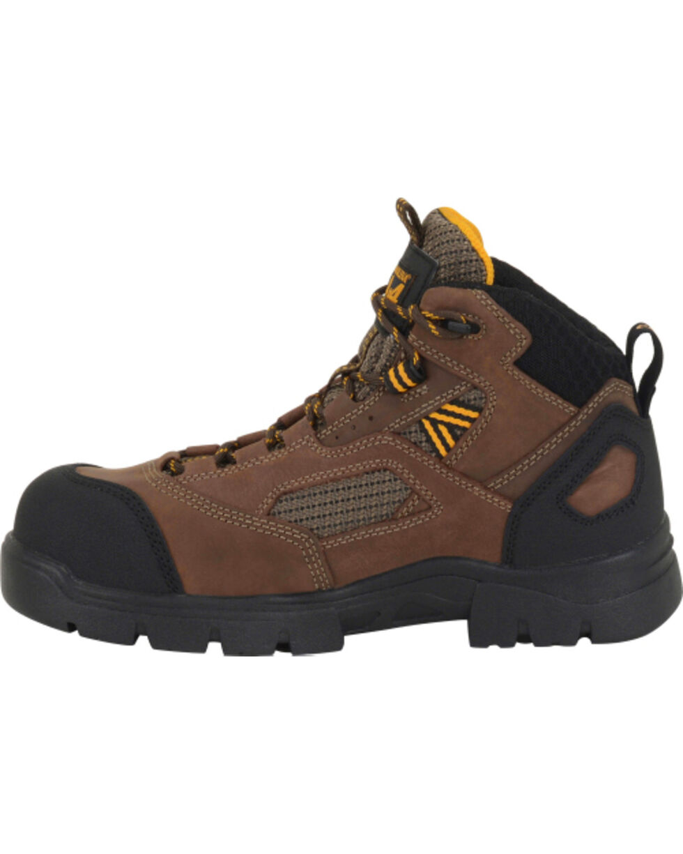 Carolina Men's Shenandoah Work Boots, Dark Brown, hi-res