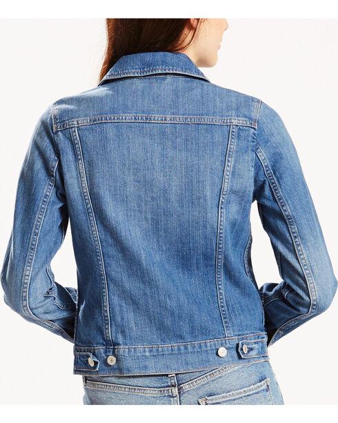 Levi's Women's Trucker Classic Jean Jacket, Blue, hi-res